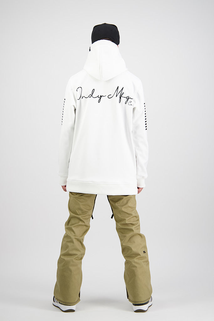 Mens 2020 NEXT GEN Script 10K Tech Snowboard Hoodie - WHITE