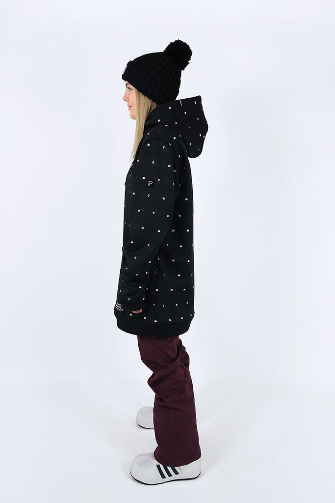 Indyslopestyle Womens Couture Tech Snowboard Hoodie