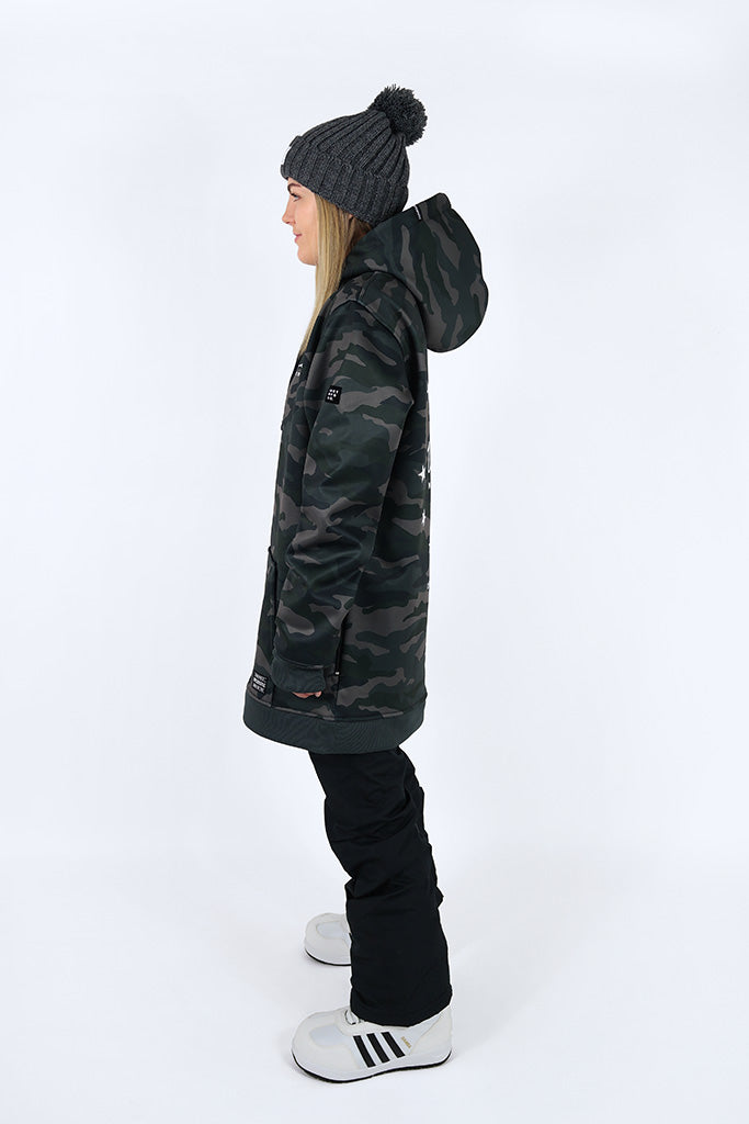 Indyslopestyle Womens Legion Tech Snowboard Hoodie