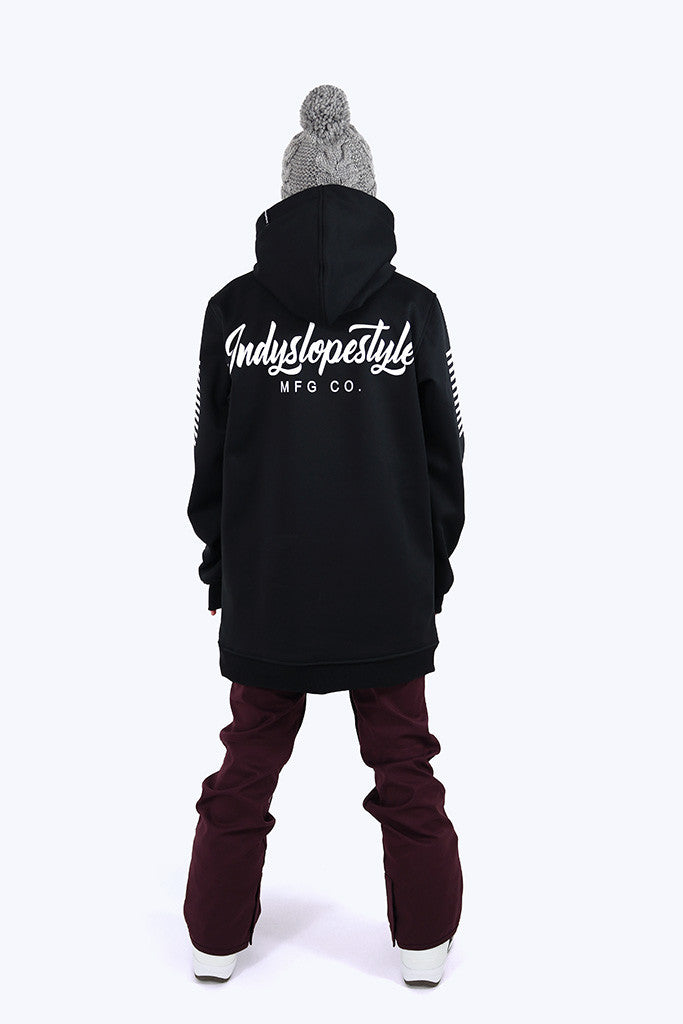 Indyslopestyle Womens Script Tech Snowboard Hoodie