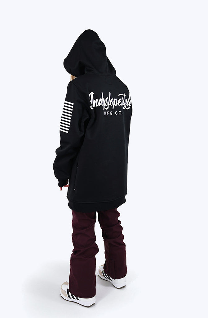 Indyslopestyle Womens Script Technical Snowboard Hoodie