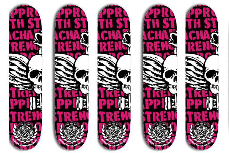 Reeson Strength Approach skateboard deck