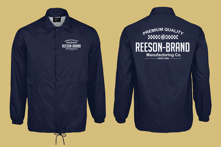 NEW! Mfg Co. Coach Jacket From REESON