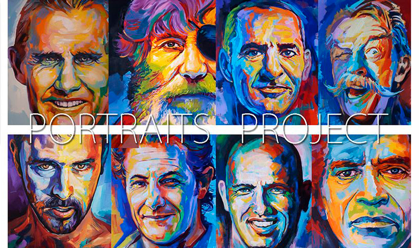 international surf legends art show