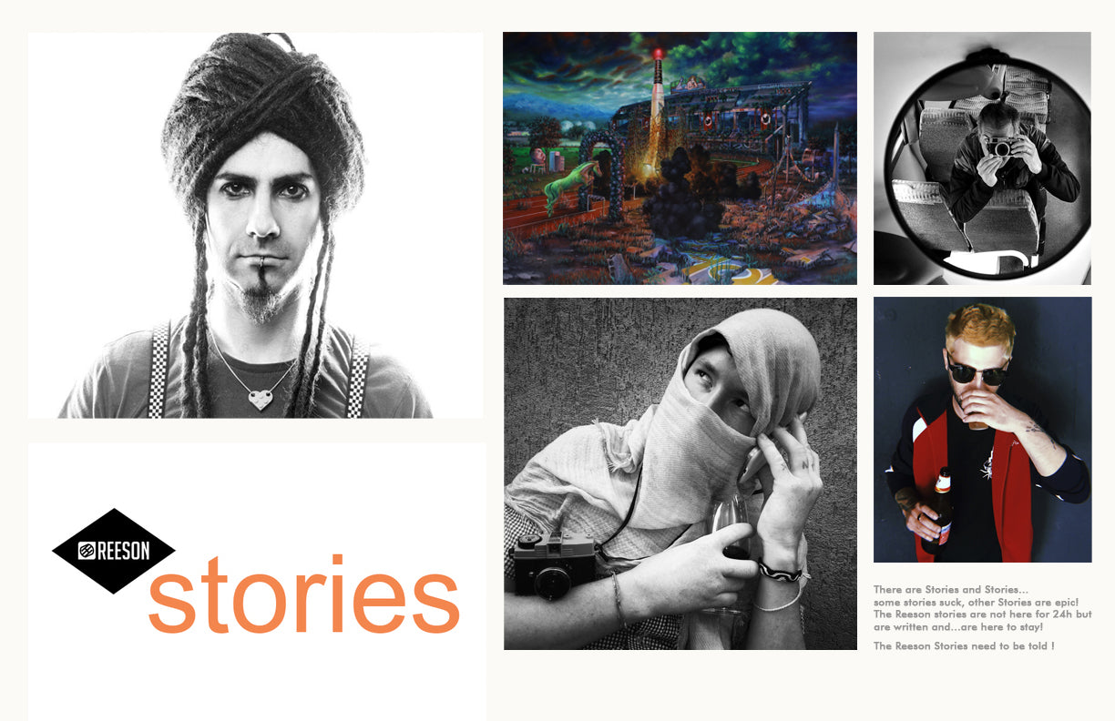 reeson interviews creatives and artists with read the stories