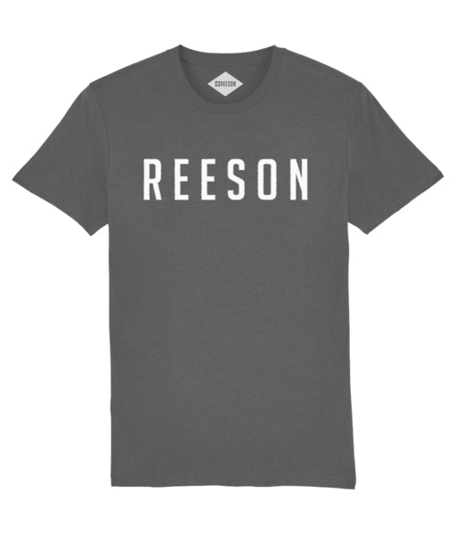 reeson activist t-shirt in grey