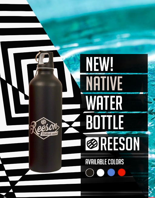 reeson aluminium travel and sport water bottle