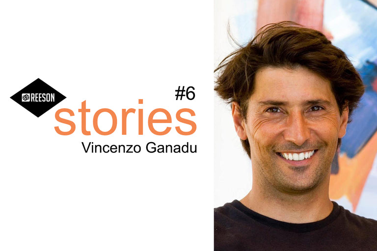 intervista a vincenzo ganadu surf art sardegna per le Reeson Stories