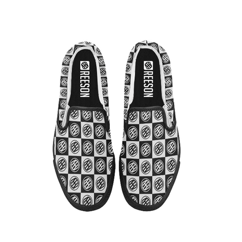slip-on shoes the checkered and plaid fashion streetwear new trend