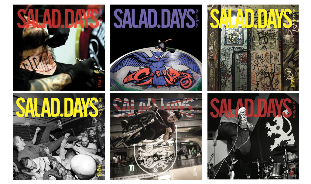 salad days magazine reeson stories
