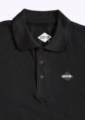Diamond polo piquet shirt