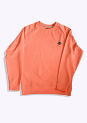 Diamond Crew Neck French Terry Sweatshirt
