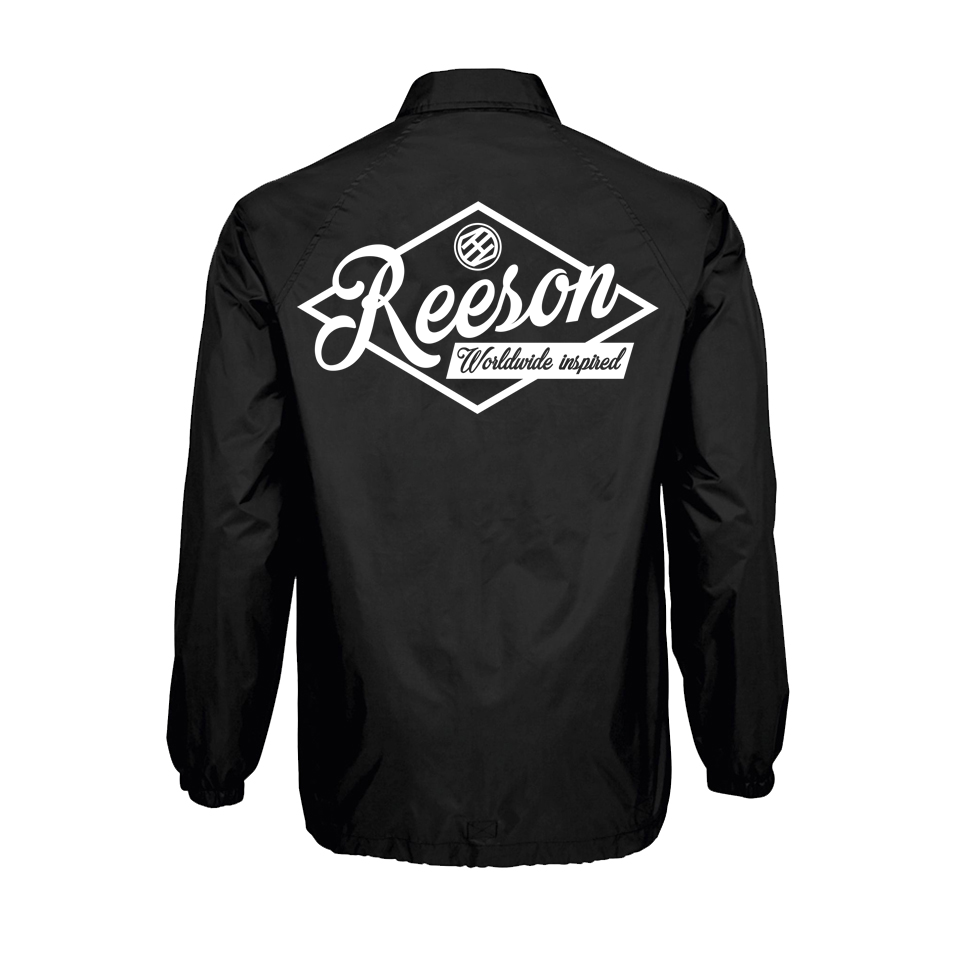 "Reeson ""Wordwide Inspired"" Classic Coach Jacket"