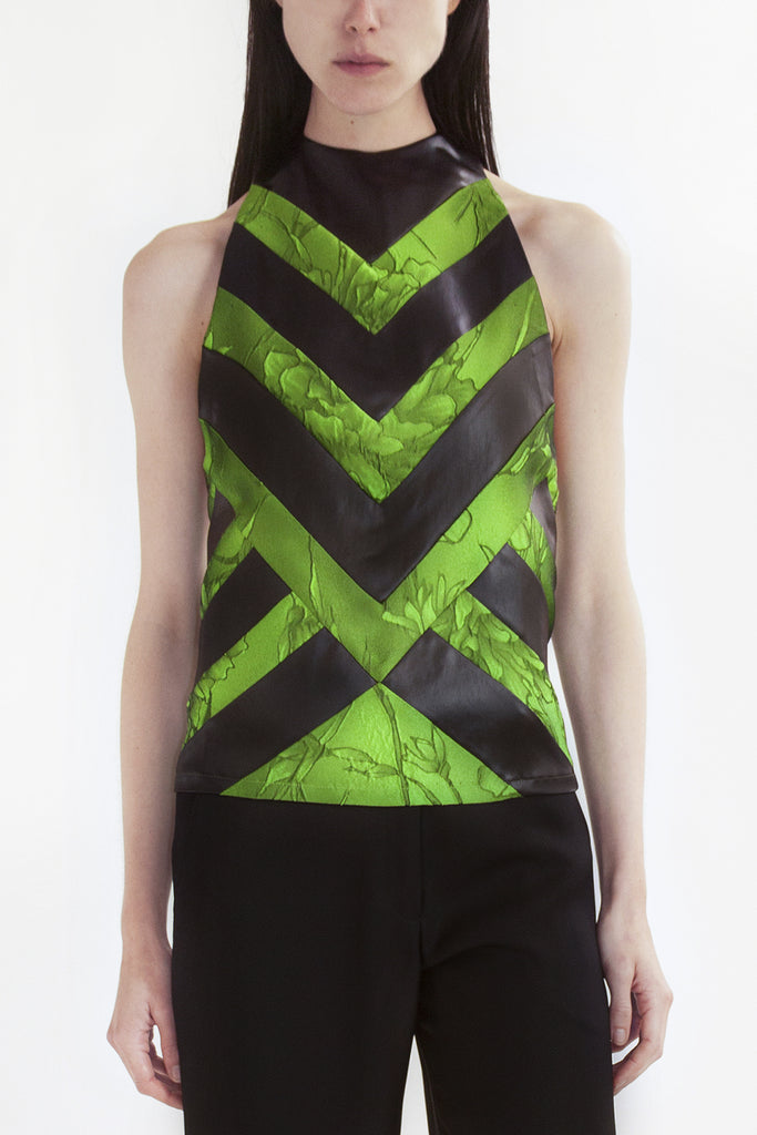 halter top 'arrow'