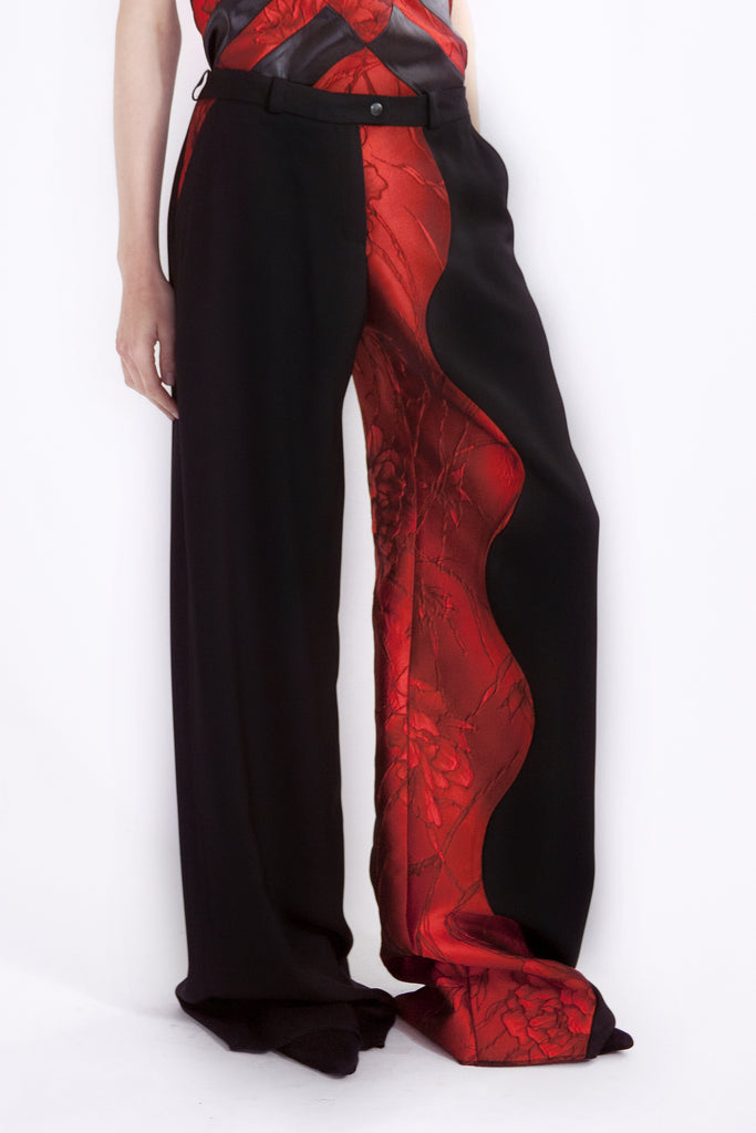 maxi pants 'lava flow'