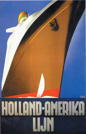 Shipping poster, 1931