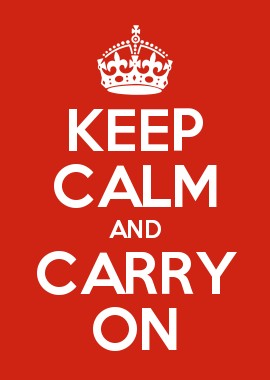 Keep Calm and Carry On, 1939