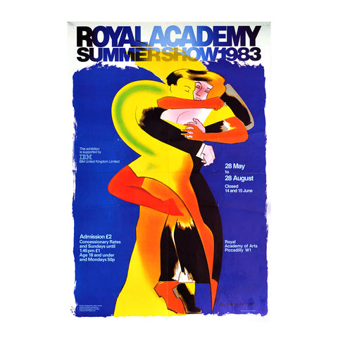 Royal Academy Summer Exhibition poster, 1983
