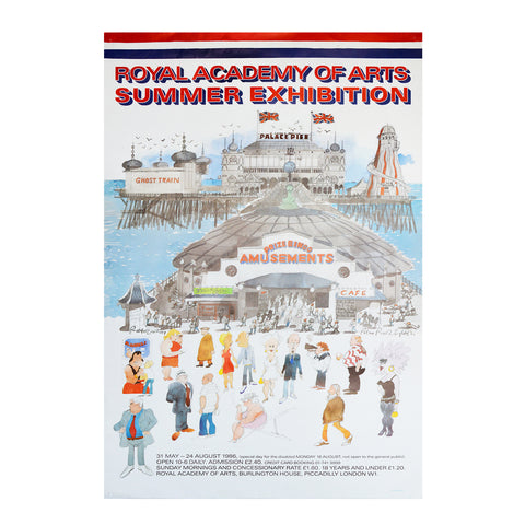 Royal Academy Summer Exhibition poster, 1988