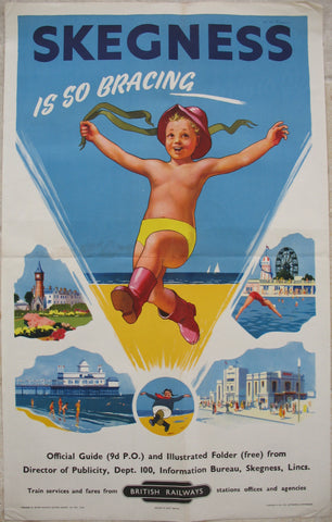 Hassall, Skegness, 1950s poster version