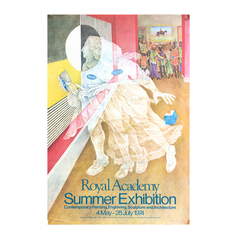 Royal Academy Summer Exhibition poster, 1974