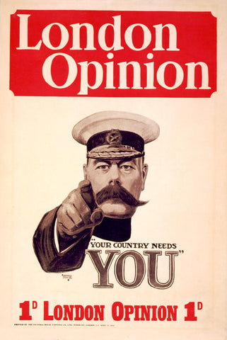 Alfred Leete, Your Country Needs YOU!, 1914
