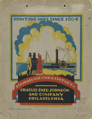 Edward McKnight Kauffer Johnson Inks 1925