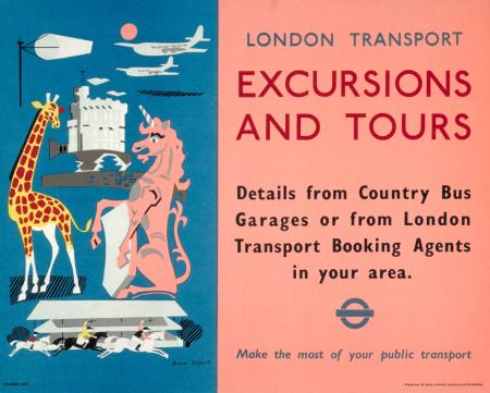 Bruce Roberts London Transport Poster