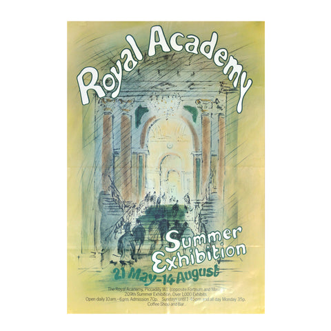 Royal Academy Summer Exhibition poster, 1977