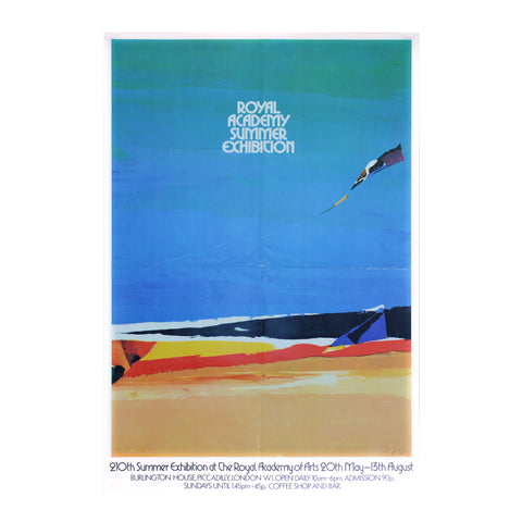 Royal Academy Summer Exhibition poster, 1978