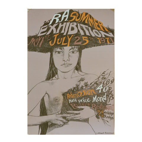 Royal Academy Summer Exhibition poster, 1971