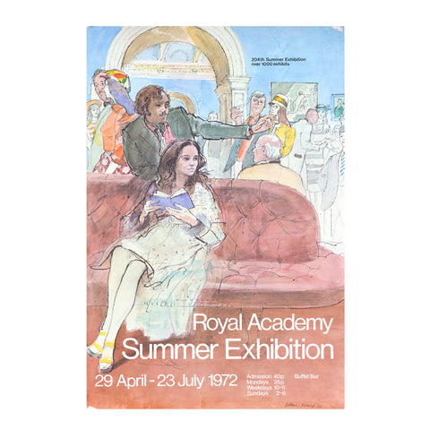Royal Academy Summer Exhibition poster, 1972