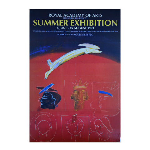 Royal Academy Summer Exhibition poster, 1993