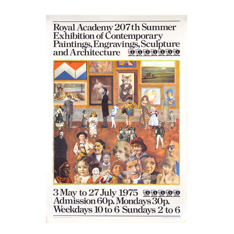 Royal Academy Summer Exhibition poster, 1975