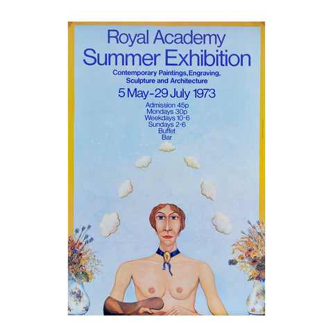 Royal Academy Summer Exhibition poster, 1973
