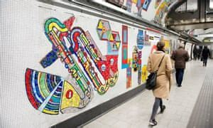 Tottenham Court Road Tube station, Paolozzi mosaics