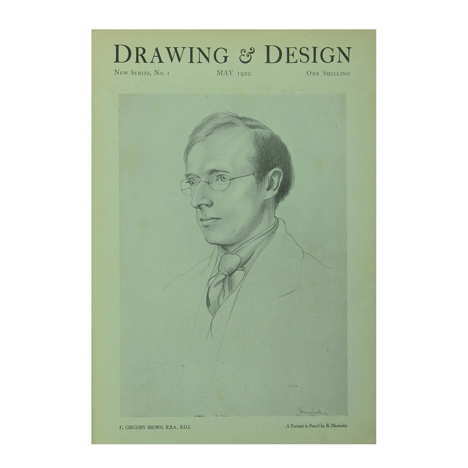 Drawing & Design, 1920-21