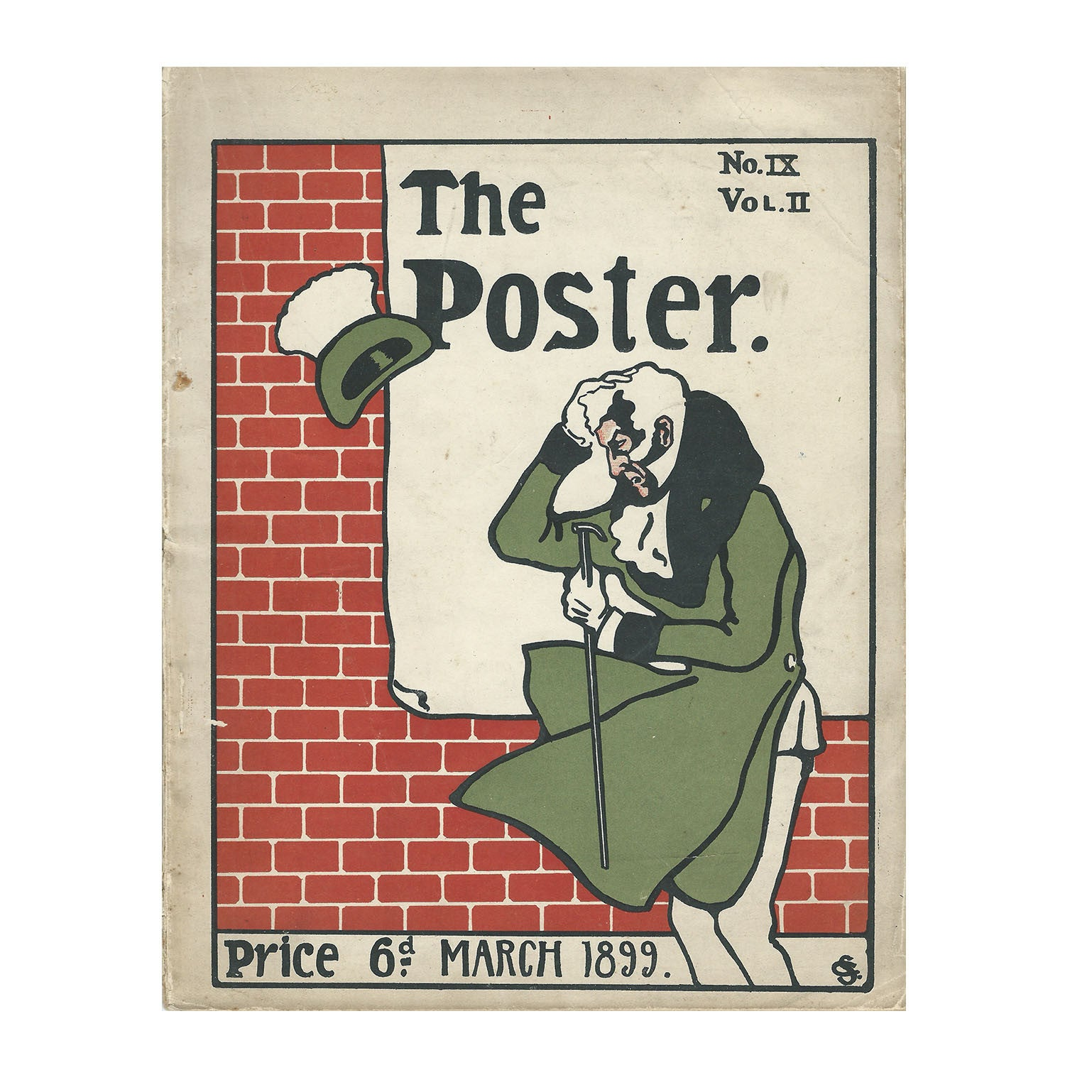 The Poster, Volume 2 No IX, Mar 1899