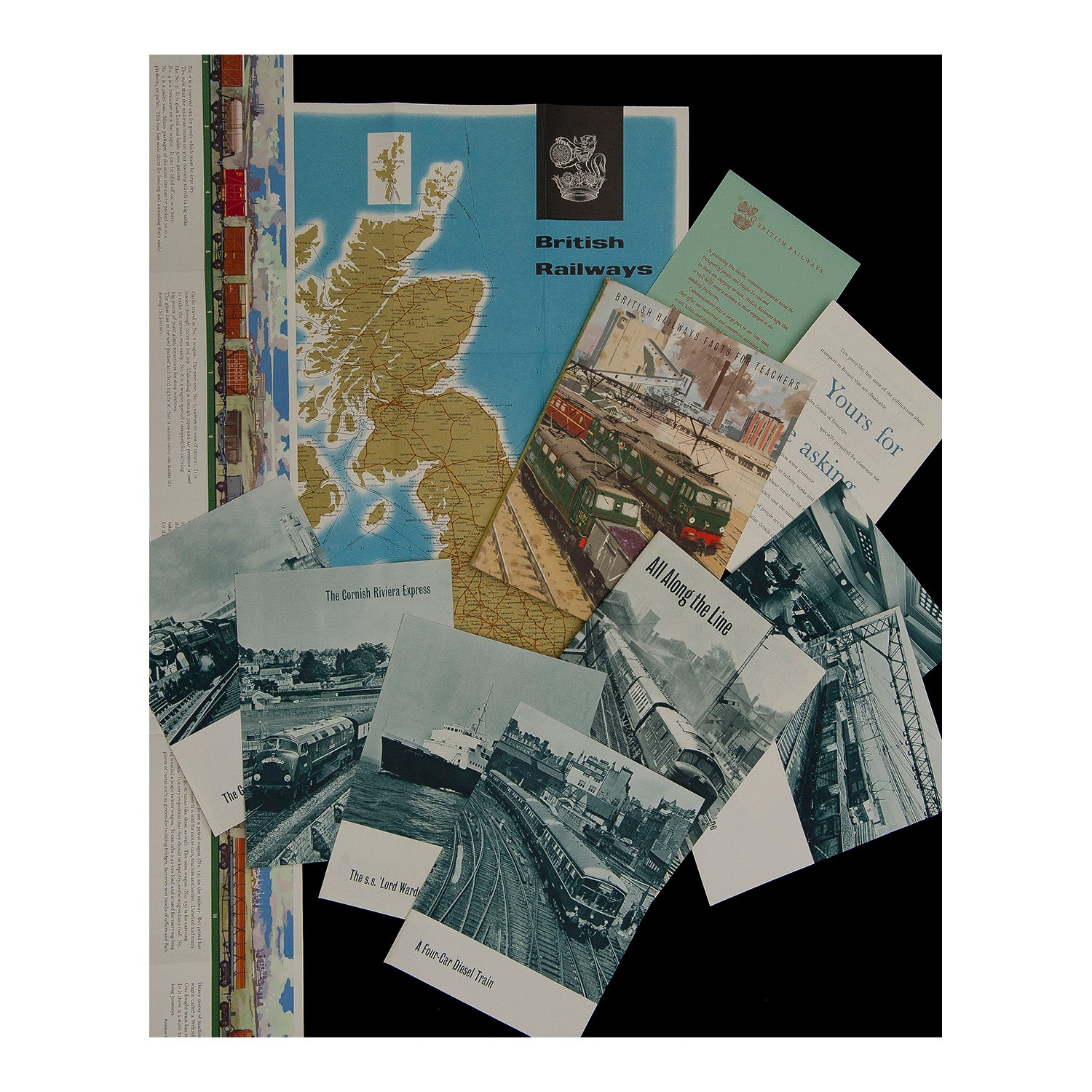 Teacher's pack, British Railways (includes poster)