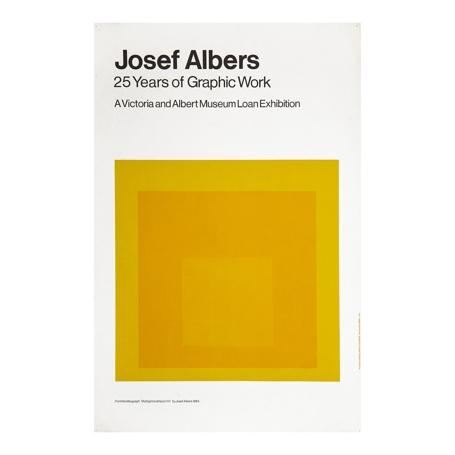 Joseph Albers. 25 Years of Graphic Work