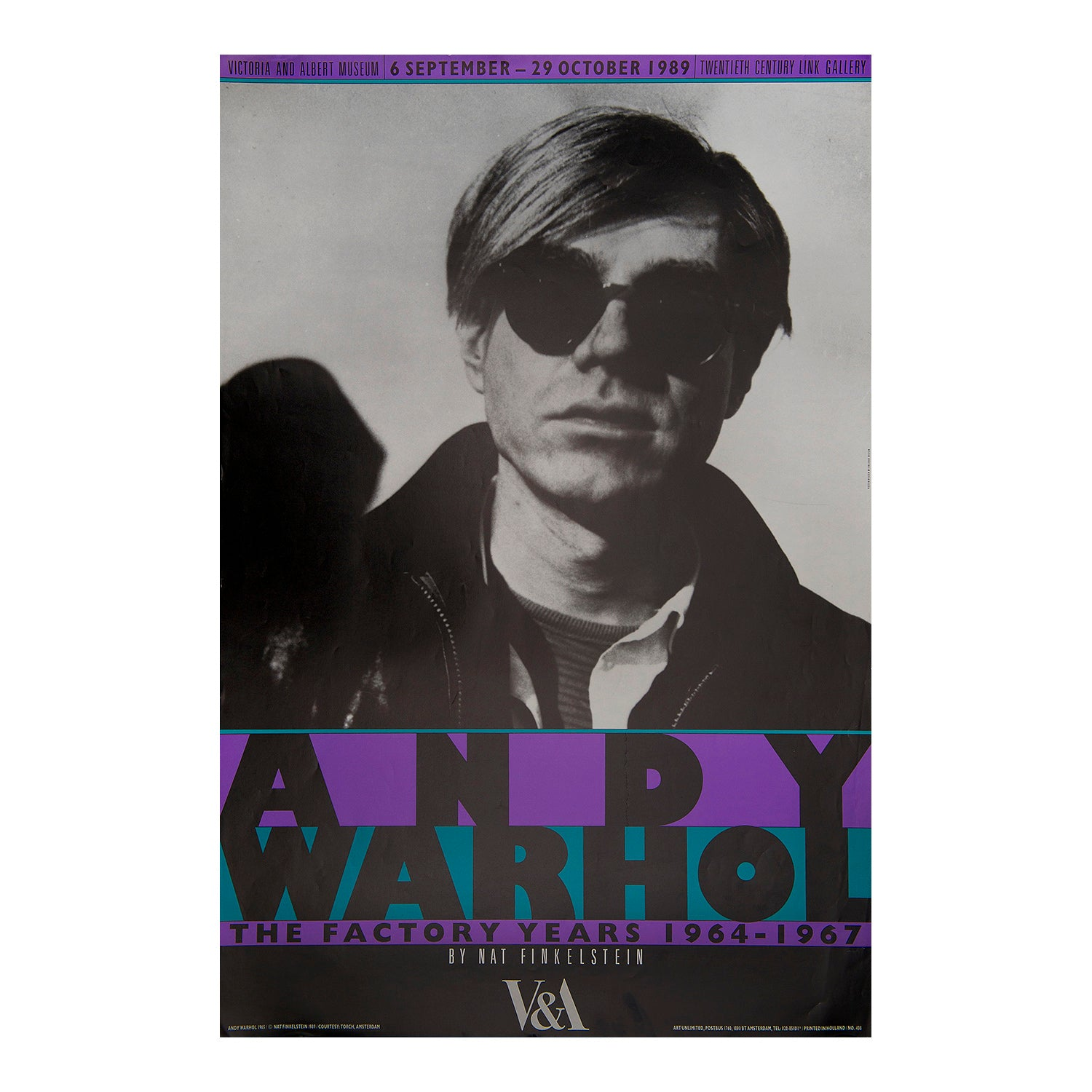 Andy Warhol. The Factory Years. 1964-1967. V&A Exhibition
