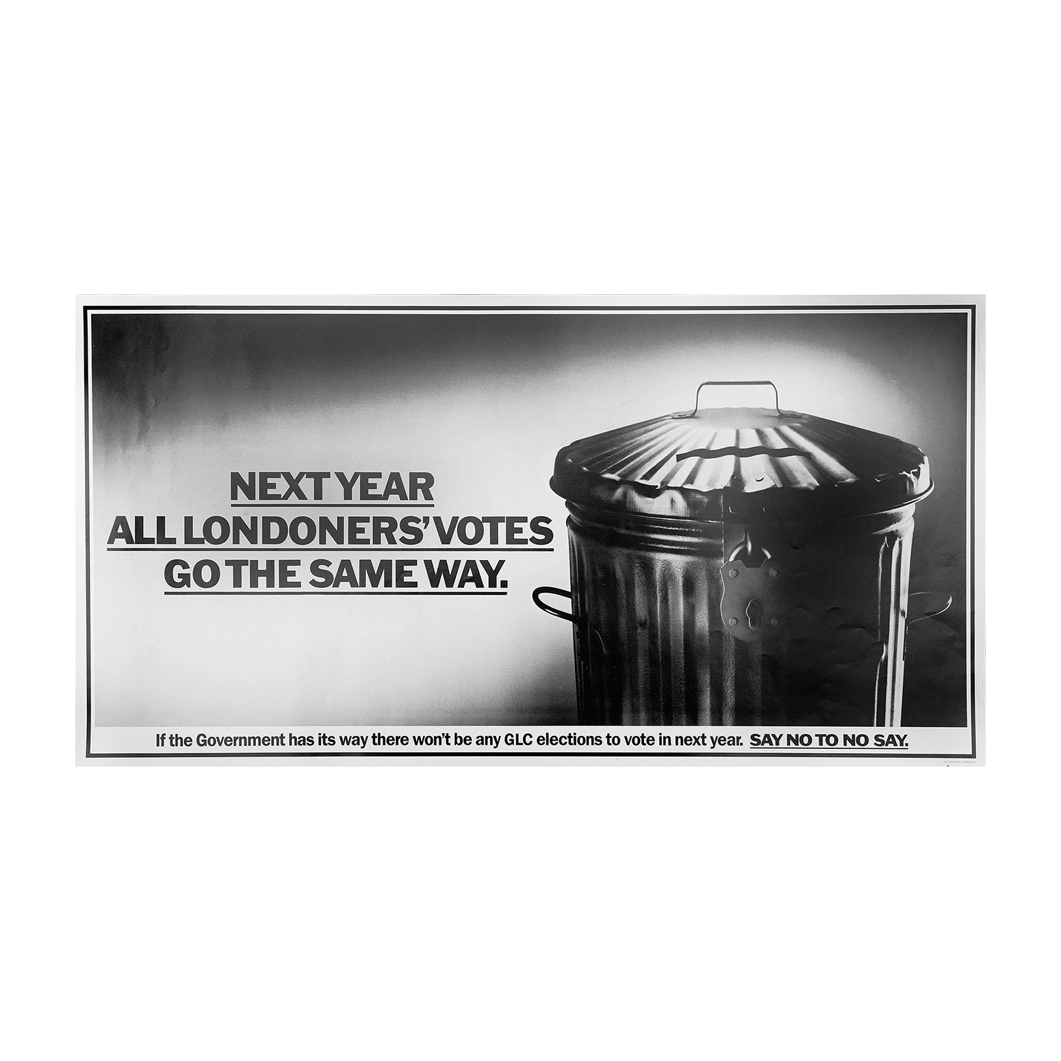 Next year all Londoners' votes go the same way