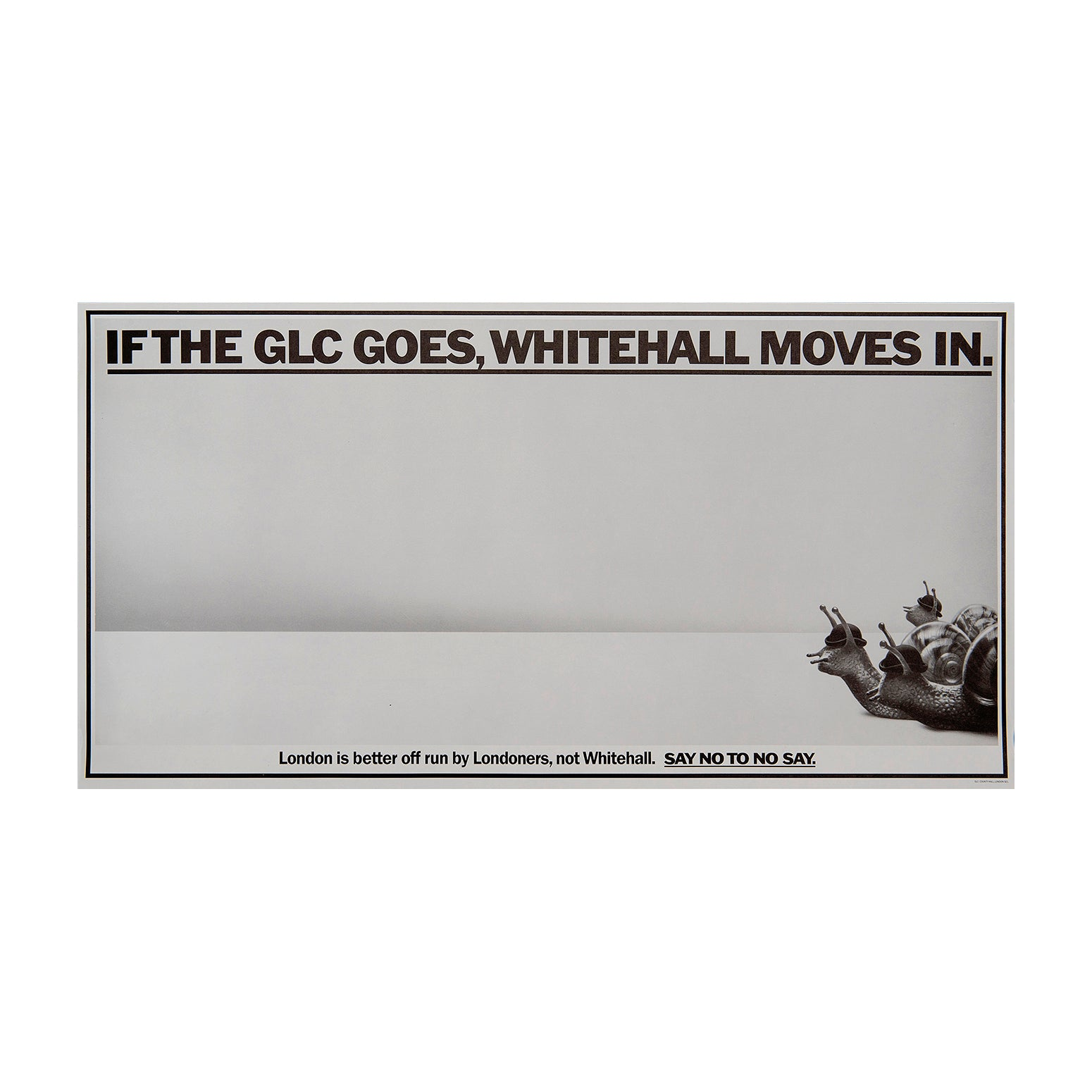 If the GLC goes, Whitehall moves in