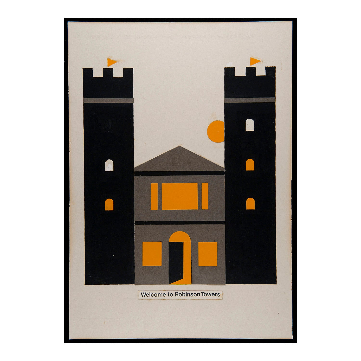 Welcome to Robinson Towers (Tom Eckersley)