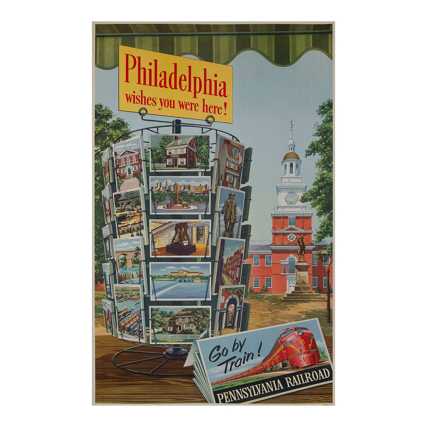 Philadelphia Wishes You Were Here !