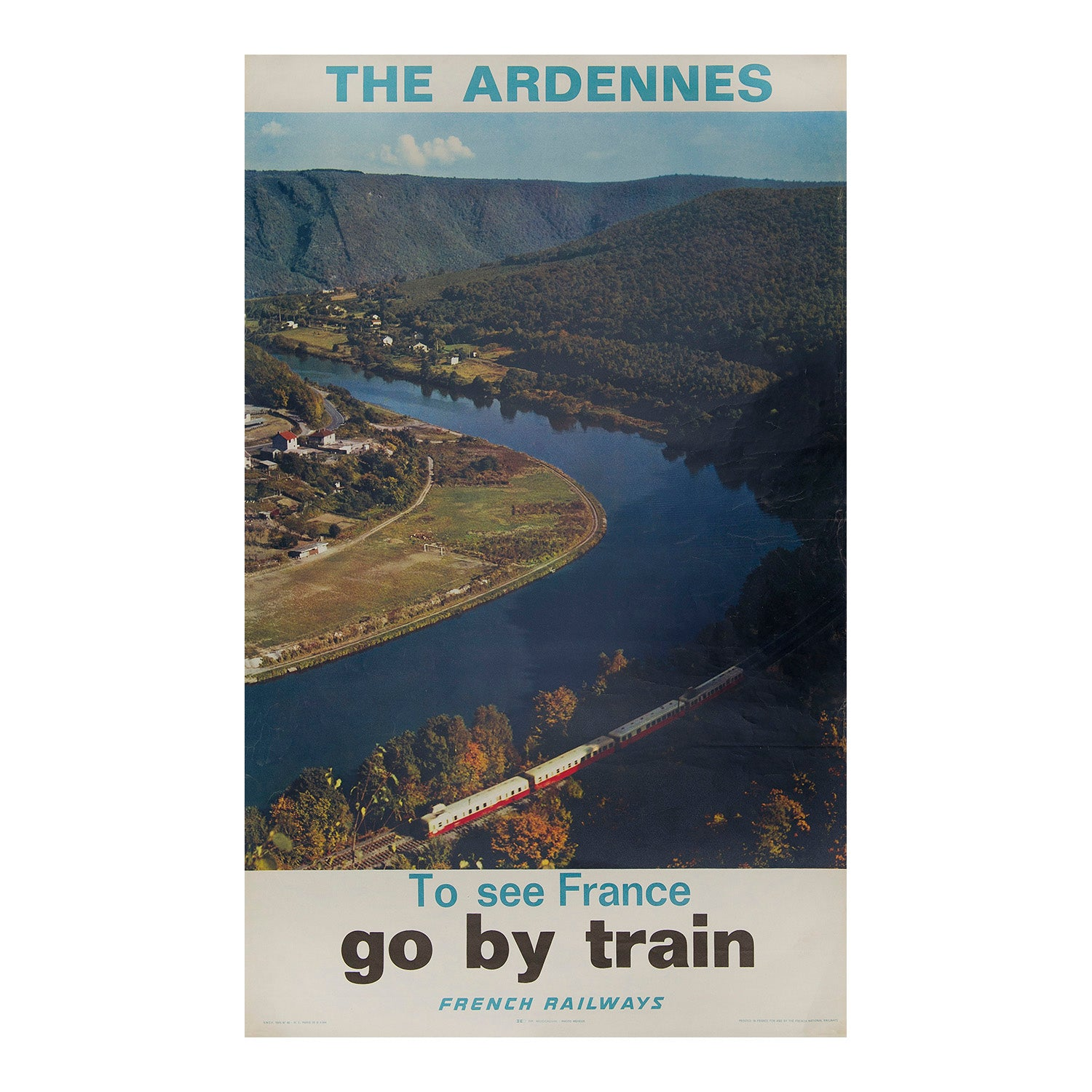 The Ardennes. To see France go by train. French Railways
