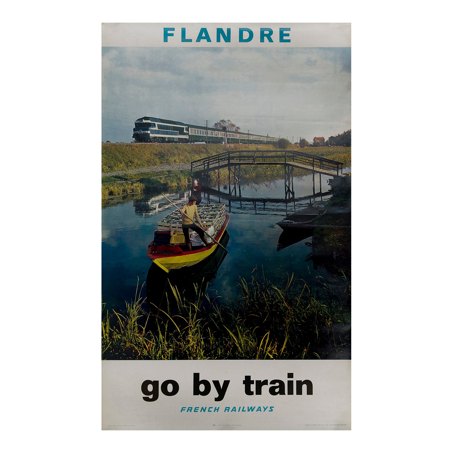 Flandre. Go by train. French Railways