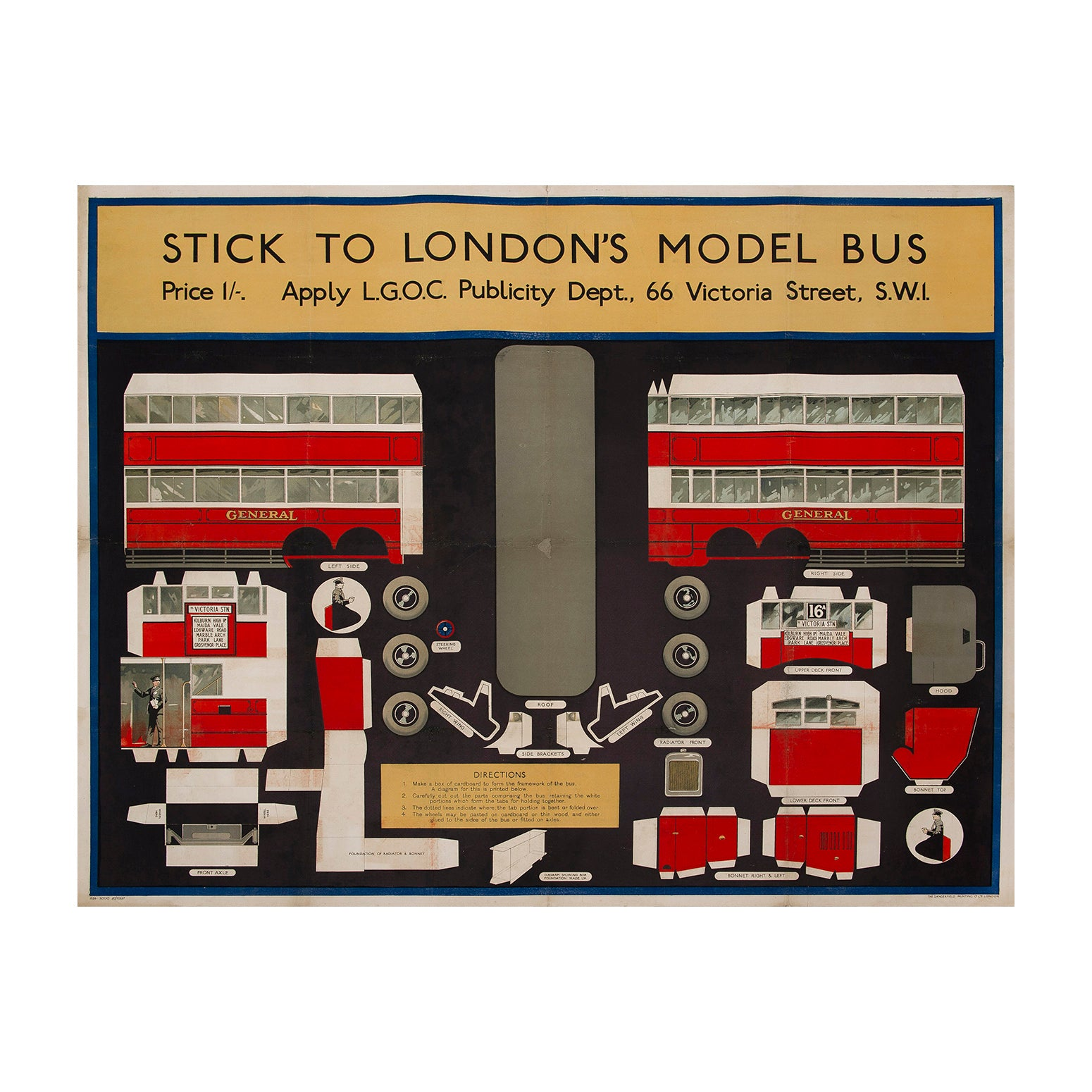 Stick to London's Model Bus