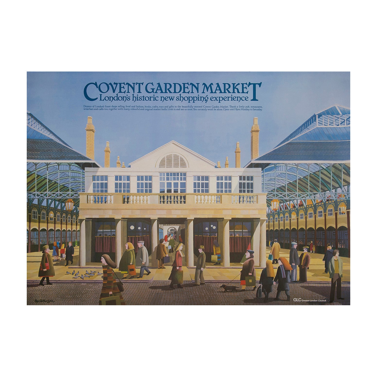 Covent Garden Market London's historic new shopping experience