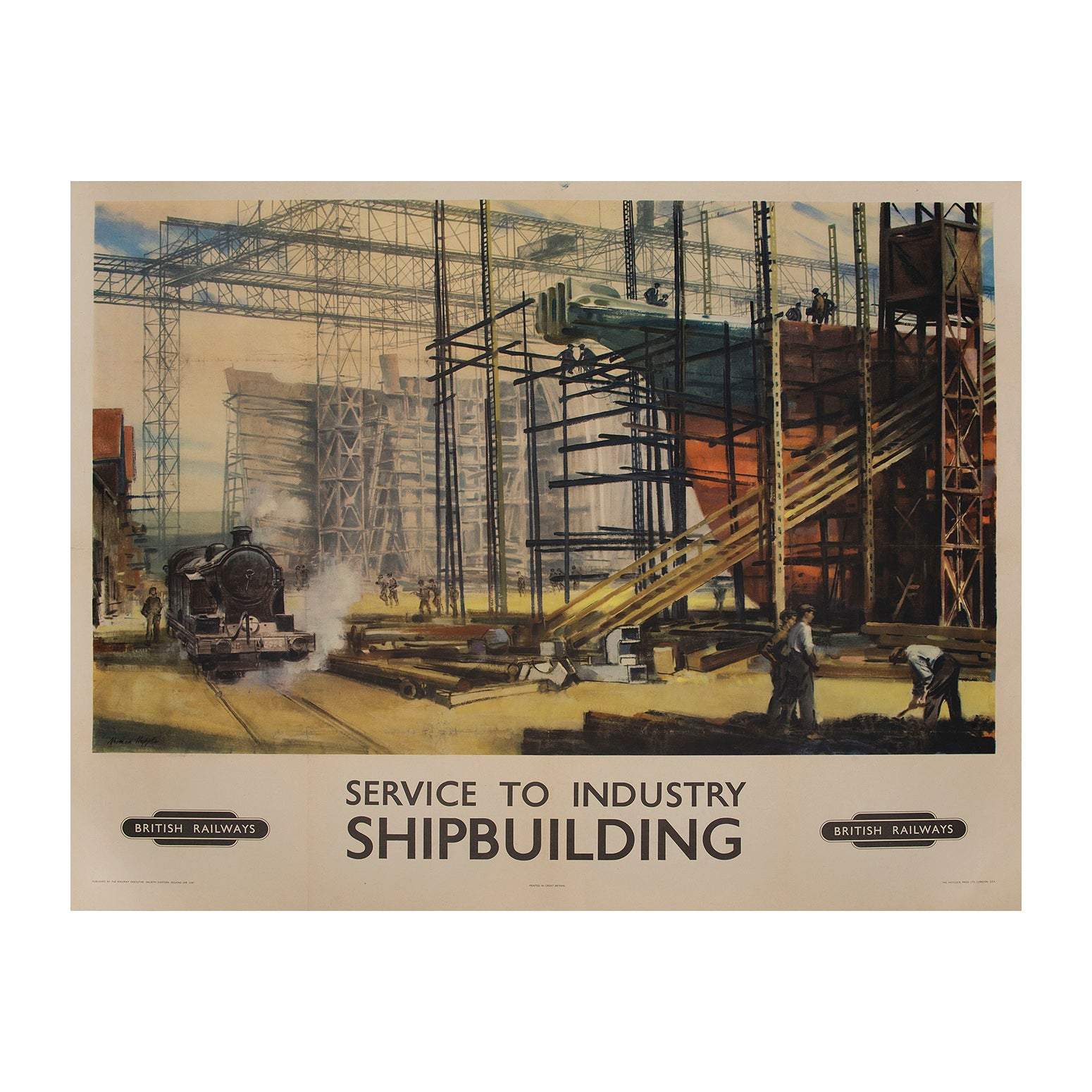 Service to Industry. Shipbuilding
